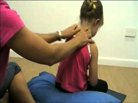 Video: Going on a Bear Hunt story massage. Tell stories while relieving pain.