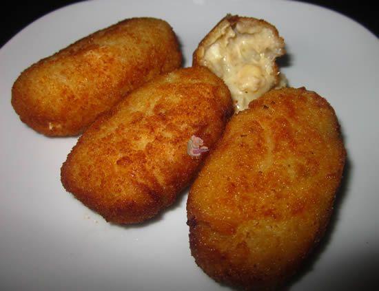 Receta de croquetas caseras de pollo y huevo