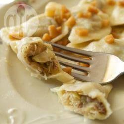 Piroggen mit Sauerkraut und Pilzen (Pierogi) @ de.allrecipes.com