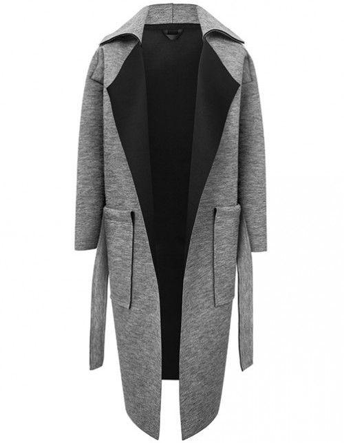Płaszcz SIMPLE GRAY | PtASZEK | SHOWROOM
