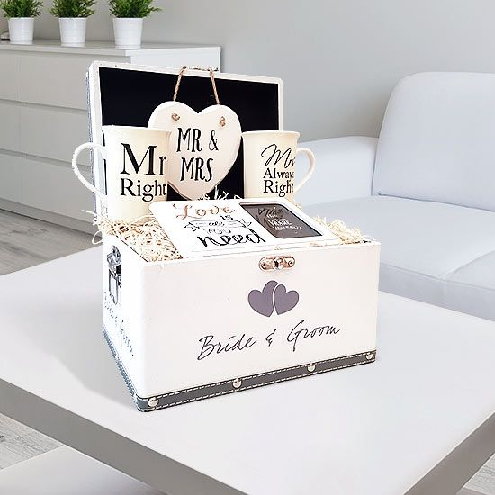Love is all You Need Gift Set will put a big smile on anyone's face. What better way to say congratulations on your engagement, than a gift set.