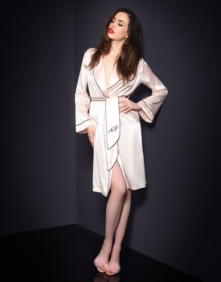 Gowns & Kimonos by Agent Provocateur - Classic Dressing Gown