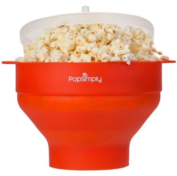 Microwave Popcorn Maker & Popper by PopSimply, Fast and Easy Homemade Popcorn, FDA Approved, BPA Free - http://ratezon.com/product/roll-image-zoom-microwave-popcorn-maker-popper-popsimply-fast-easy-homemade-popcorn-fda-approved-bpa-free/