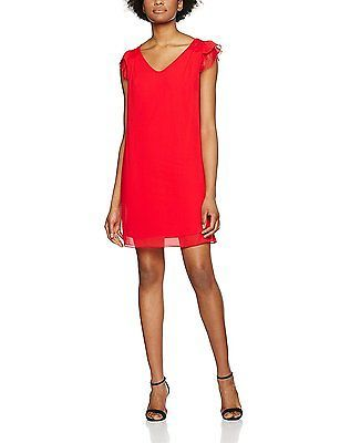 X-Small, Rouge (rouge Pulp), Naf Naf Women's Kamie R1 Dress NEW
