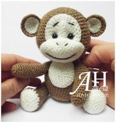 Free monkey crochet pattern (Free Amigurumi Patterns)