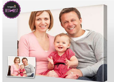 Canvas People Photo to Canvas Print Deal  Starting at $8 #free #photo #canvasprint