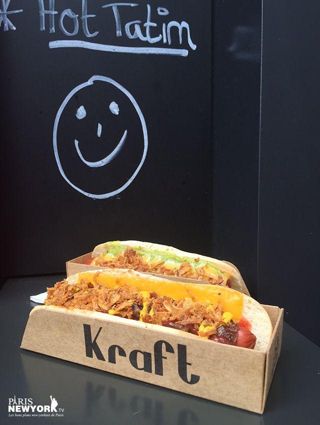 Kraft hot dog : la nouvelle référence parisienne des hot dog et nachos comme à New York ! TOUT NOUVEAU | PARIS NEW YORK TV