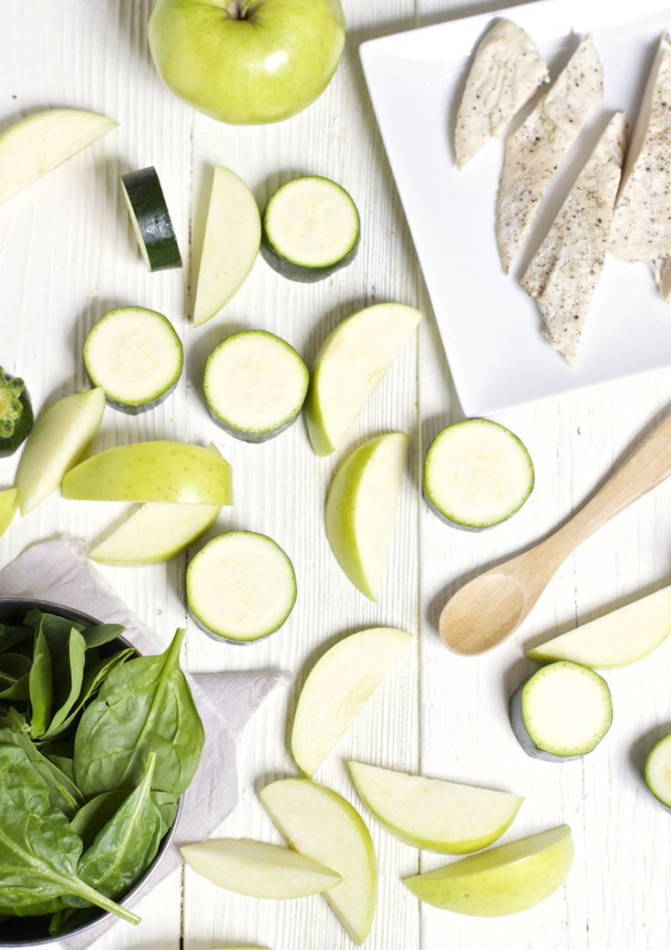 Zucchini + Apple + Spinach + Chicken Chunky Puree — Baby FoodE   organic baby food recipes to inspire adventurous eating