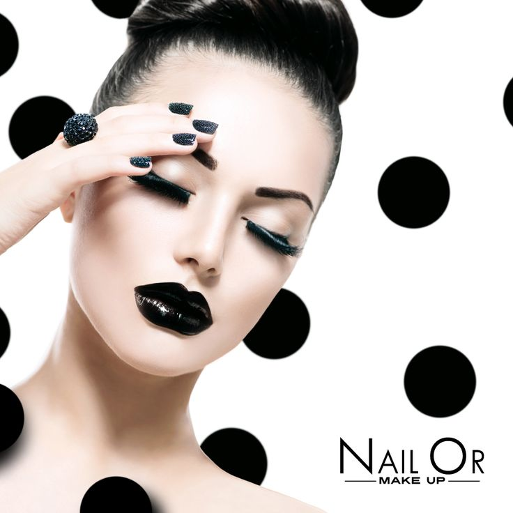 #black #pois #style by Nail Or #makeup