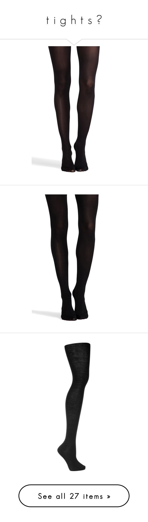 """""""t i g h t s ☾"""" by upinflaaames ❤ liked on Polyvore featuring intimates, hosiery, tights, black, nylon stockings, spanx hosiery, nylon hosiery, spanx tights, spanx pantyhose and socks"""