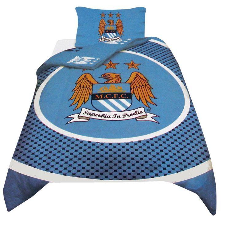 Manchester City F.C. Duvet Set BE - Rs. 2,999 Official#Football #Merchandisefrom#EPL