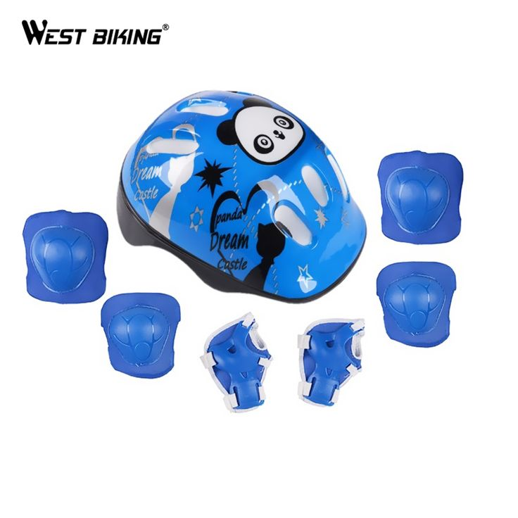 Find More Elbow & Knee Pads Information about Cycling Helmet Elbow Knee Pads Wrist Sport Children Bike Bicycle Roller Skating Skateboard Protection Safety Guard Pads 7Pcs Set,High Quality bicycle wholesaler,China bicycle mechanic tool kit Suppliers, Cheap bicycle rear rack bag from Ledong Cycling on Aliexpress.com