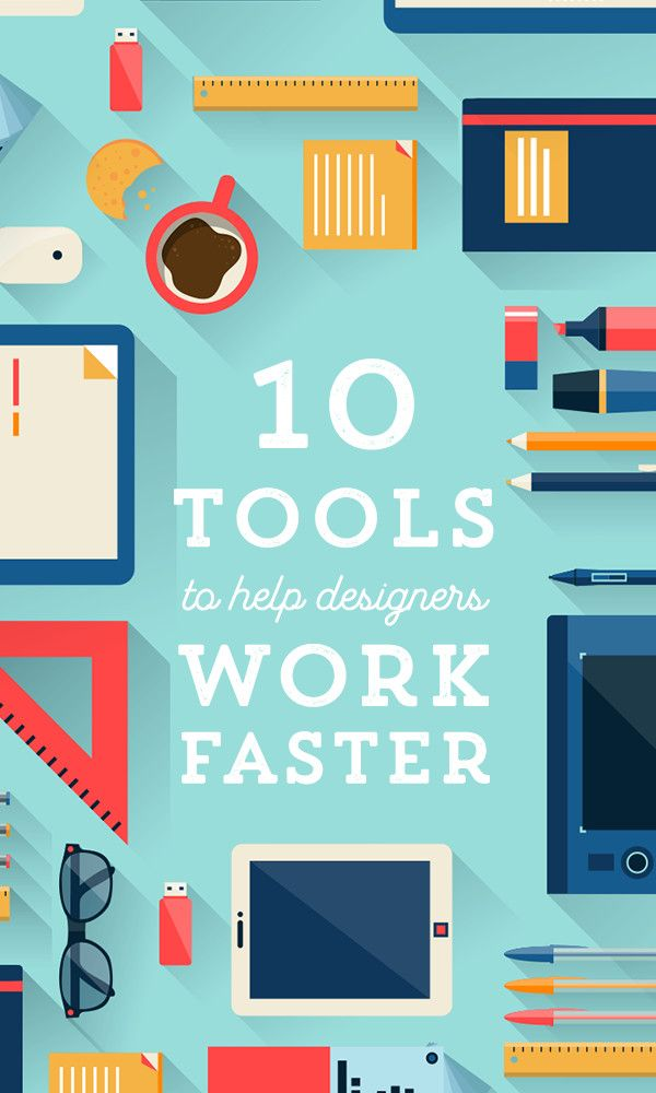 On the Creative Market Blog - 10 Tools To Help Designers Complete Projects Faster