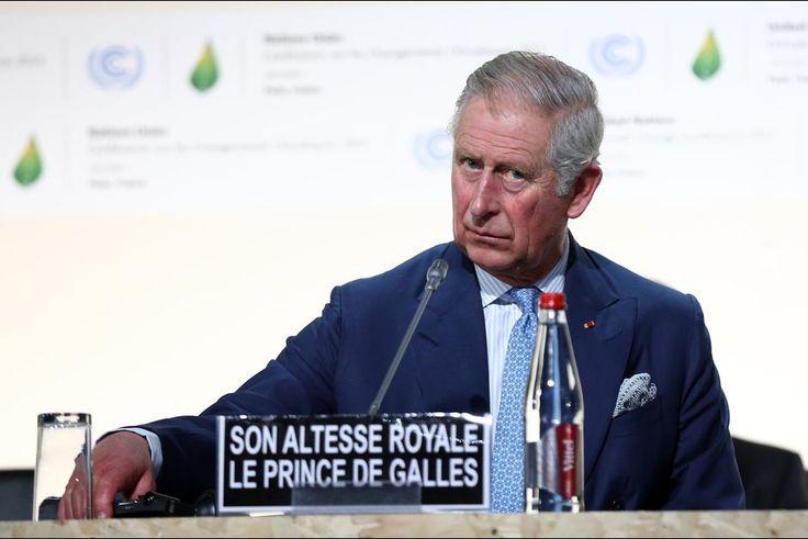 France. Le prince Charles à la COP21 à Paris, le 30 novembre 2015