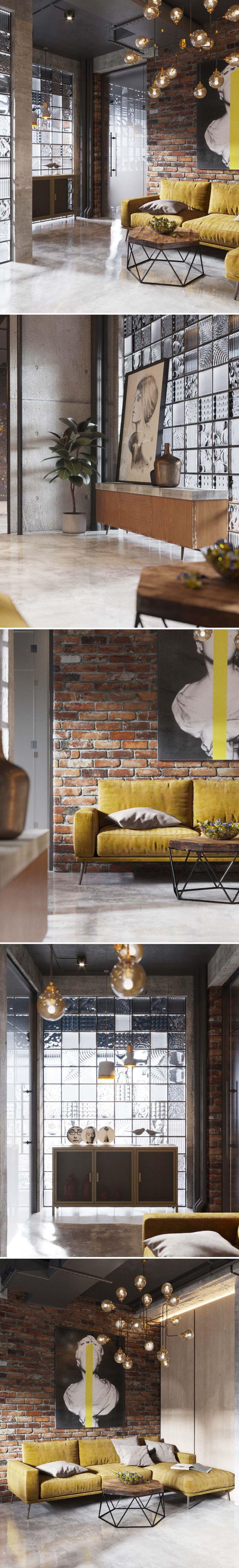New project for office spaces loft style - Галерея 3ddd.ru