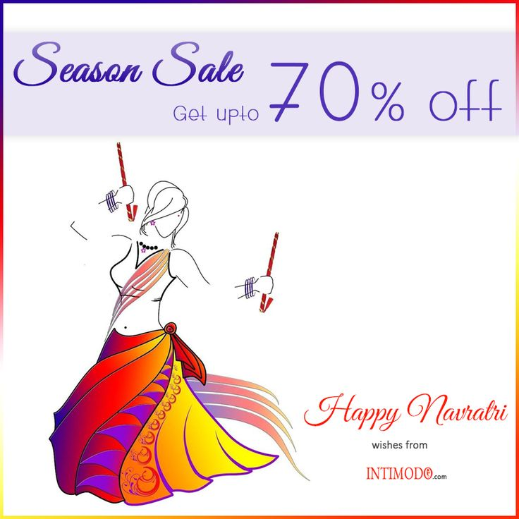 Navratri Season Sale - Get Upto 70% OFF on Intimodo Products Shop Now - http://intimodo.com #navratrispecial #womenfashion #onlineshopping #womenwear #intimodo