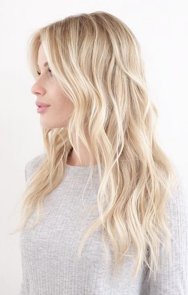 perfect blonde balayage highlights... Hair cut
