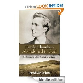 Oswald Chambers ~ one of my favorite authors