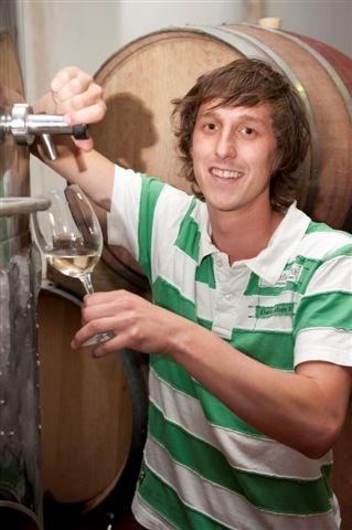 Winemaker Marthinus Rademeyer