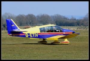 Plane at Wealden Air Services in Kent
