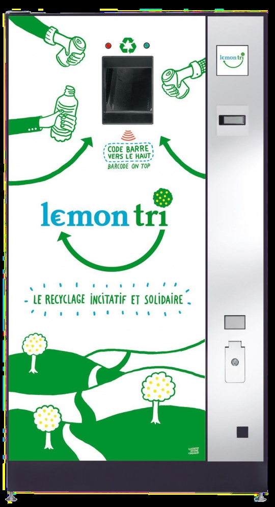 Lemon Tri - Pour un recyclage efficace des déchets boissons en entreprises