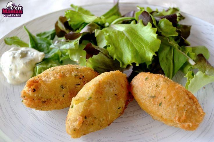 Beignets de morue portugais – Pastéis de bacalhau - Croquettes de morue (1)