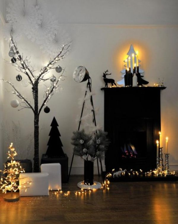 Christmas Lights Decor Ideas   InteriorHolic.com