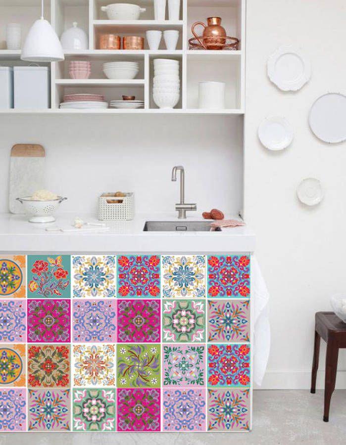 Die besten 25+ Fliesenaufkleber mosaik Ideen auf Pinterest - tapete k che abwaschbar