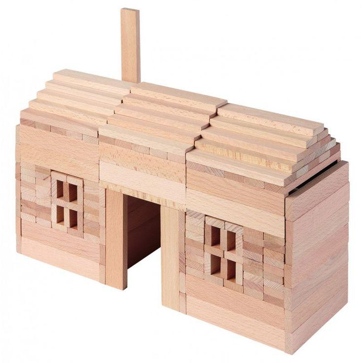 La maison forestière Jeujura 135 pièces, Les Jeux en bois Jeujura fabriqués