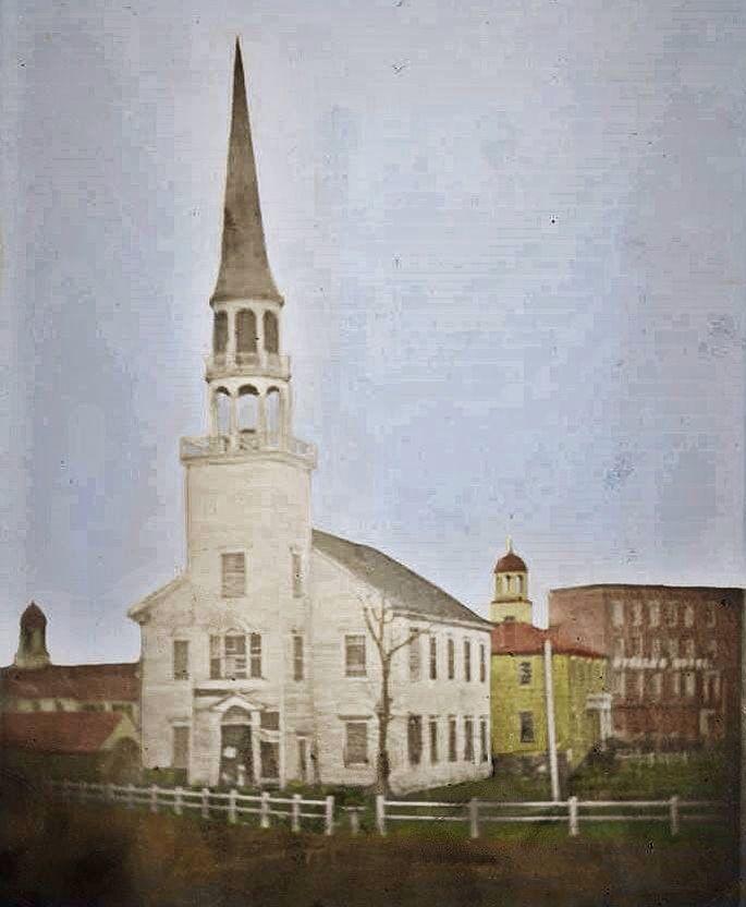 Old Ship Zion Church on Public Square