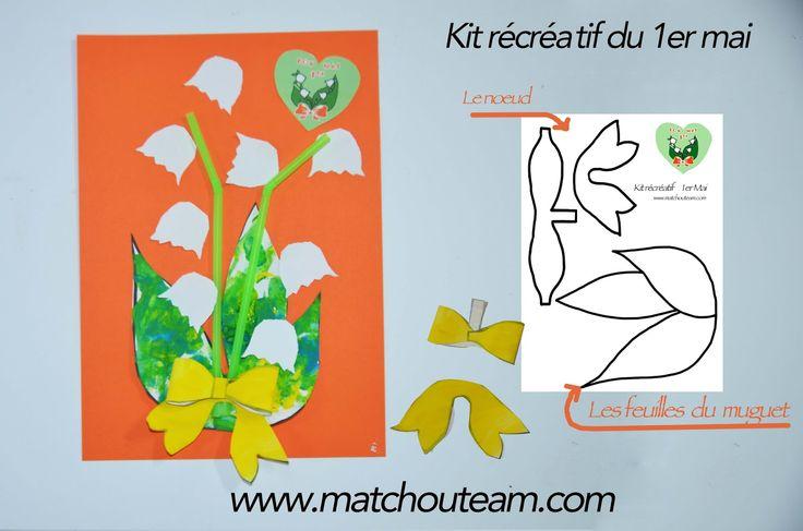 Clochettes du 1er mai | Kit récréatif pour le 1er mai