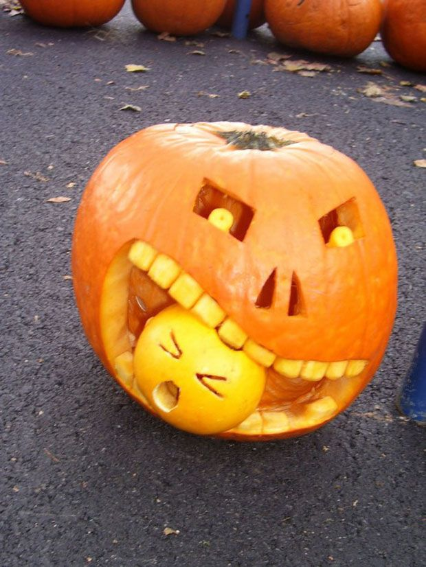 Best 25+ Funny pumpkin carvings ideas on Pinterest | Funny ...