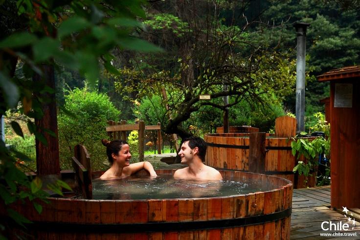 Relax in Valle Las Trancas, Biobío, Chile