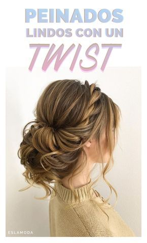 Peinados que puedes lograr haciéndole un 'twist' a tu cabello