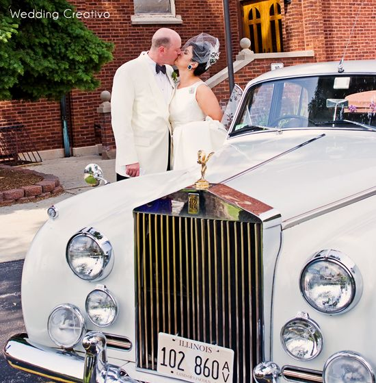 Best Classic Car Wedding Images On Pinterest Car Wedding
