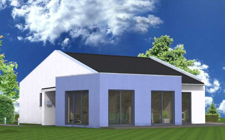 bungalow moderne architektur | hausideen | pinterest | bungalows ... - Moderne Bungalows