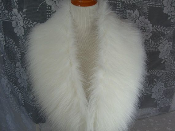 Faux Fur COLLAR  Women's Fur Neckwarmer Fur Collar Soft by HotHats