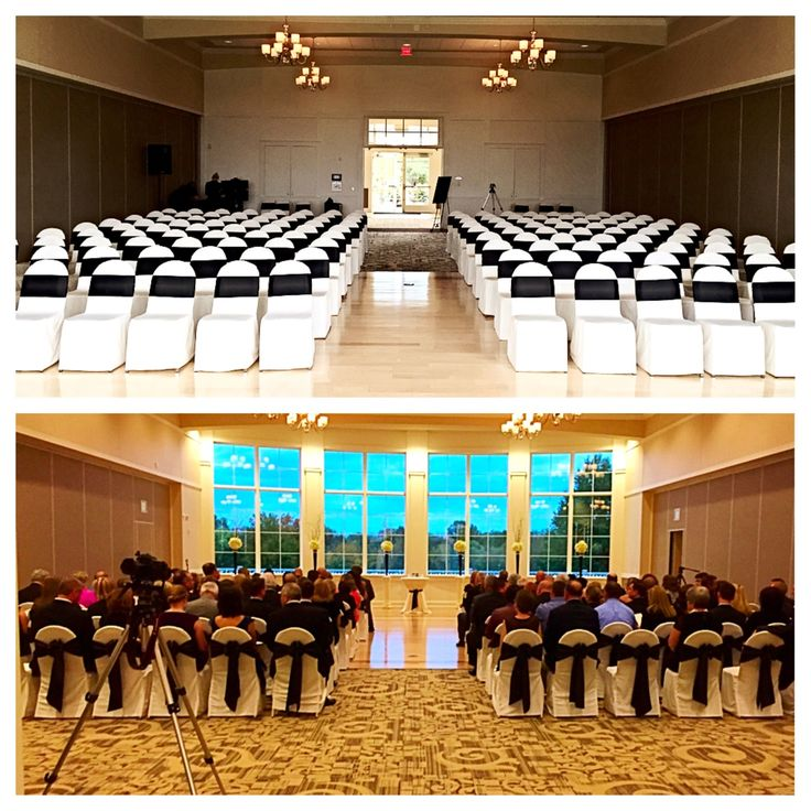 10 17 14 Indoor Ceremony At The Cooper Creek Event Center With Blue Ash Golf