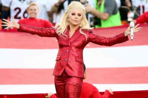 WATCH: Lady Gaga Sings the National Anthem at the Super Bowl
