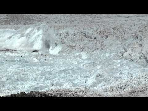 """CHASING ICE"" captures largest glacier calving ever filmed (time lapse at 4:00min)"
