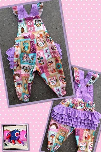 Gorgeous Rufflebum Overalls for your little miss.  Enchanted Forest Market Night opens at 9pm, on Tuesday 6th May, 2014