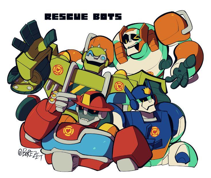 картинки боты спасатели арты