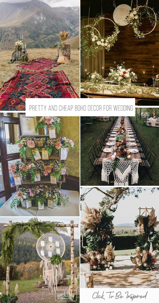 If Your Wedding Budget Is Limited Pay Attention To The Bohemian Wedding Style We Have Collected For You Boho Wedding Theme Boho Decor Bohemian Style Wedding