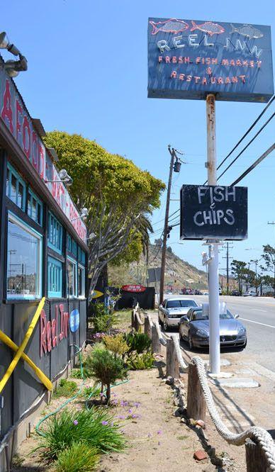 Great fish @ The Reel Inn in Malibu