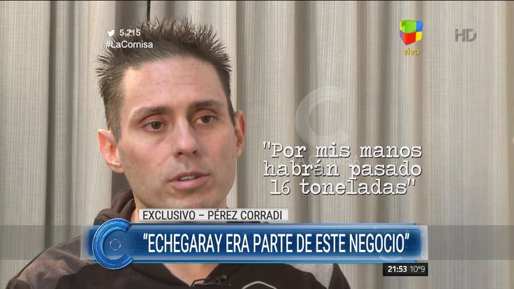 "Entrevista completa a Pérez Corradi, de Macchiavelli, en ""La cornisa"" de..."