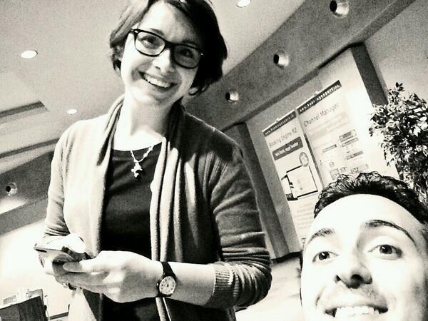 #Selfie bis con @Ivana Pivi Gimigliano e @Danilo Pontone #Shortmaster