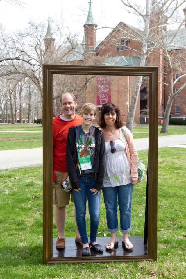 """What a cute idea! Set-up a """"picture yourself"""" here for new residents and prospects."""
