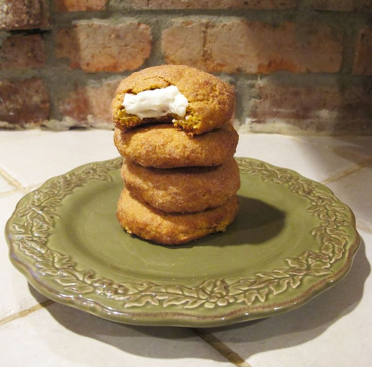 Pumpkin Spice Snickerdoodles; good but not worth the work - do NOT use lite creamcheese