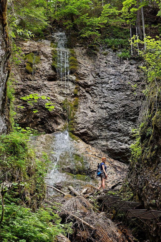 Waterfall in Sokolia Valley, Slovak Paradise by Paweł Kijak on 500px