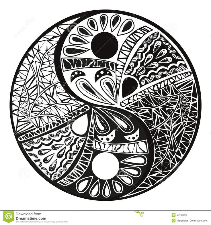 Tattoo Designs Yin Yang Symbol: 33 Best Smoke Yin Yang Tattoo Designs Images On Pinterest